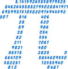 Pi Numbers, Circumference, Mathematics