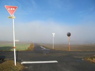 田園地帯の十字路