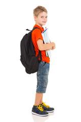 male elementary school student