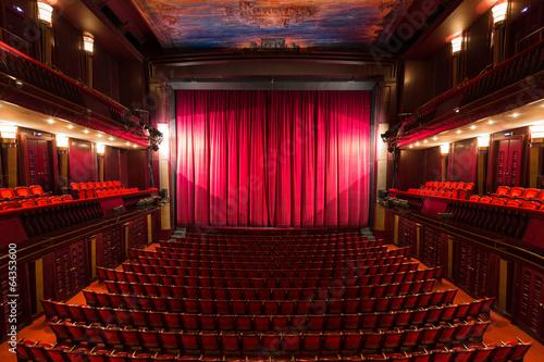 theater interior - 64353600