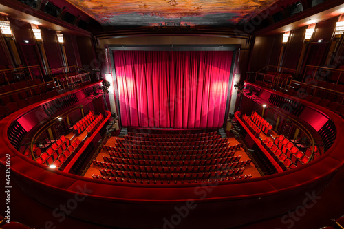 Fotobehang Theater theater interior