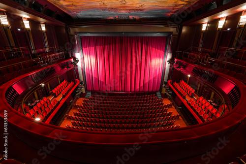 theater interior - 64353659