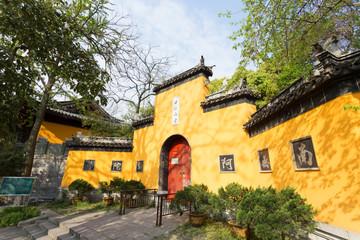Jiming Temple Main Entrance, Nanjing, Jiangsu Province, China.