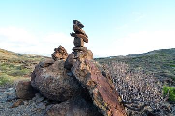 Volcanic Rocks Column