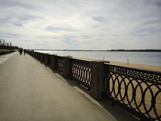 cloud over the Volga