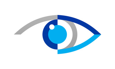 abstract eye logo