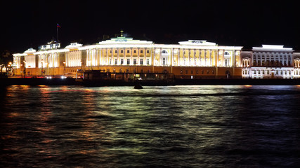 Palace in St. Petersburg. Russia