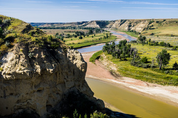 The Little Missouri River Valley