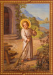 Vienna - Fresco of scene from life of little Jesus