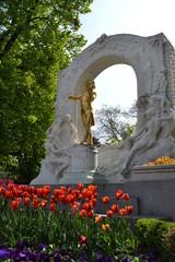 Strauss Statue in Wien