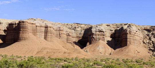 panoramique collines de l'Utah