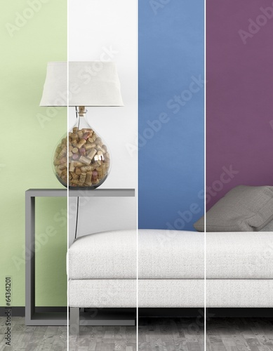canvas print picture Collage Farben