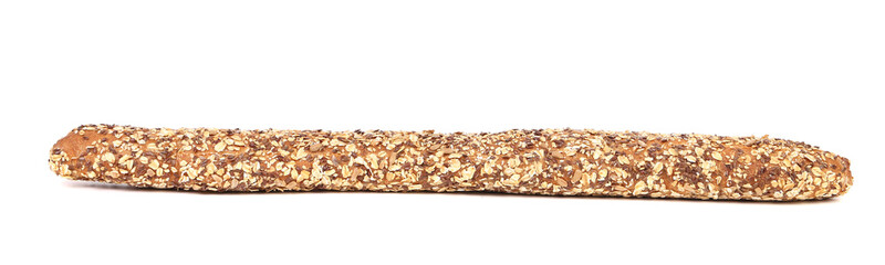 Baguette with cereals.