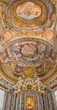 Bologna - Ceiling fresco of side chapel in Saint Dominic church