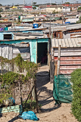 Township near Cape Town, South Africa