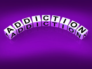 Addiction Blocks Represent Obsession Dependence and Cravings