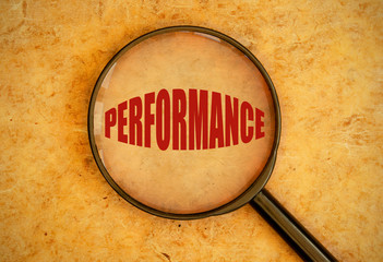 Focus on performance