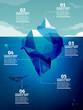 Iceberg infographic - 64364452