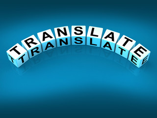 Translate Blocks Show Multilingual or International Translator