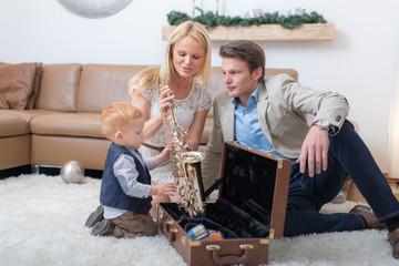 Der Stolz der Eltern