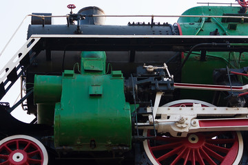 Steam train part