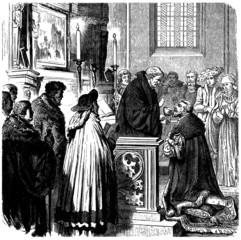 Christian Scene : Communion - 16th century