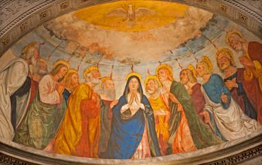 Verona - Pentecost scene
