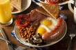 Traditional Full English Breakfast - 64367808