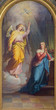 Vienna - Annunciation from main altar of baroque Servitenkirche