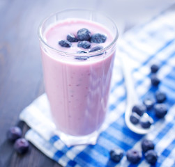blueberry yogurt