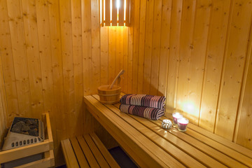 Sauna - Relax and massage