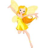 Fototapety Cute fairy