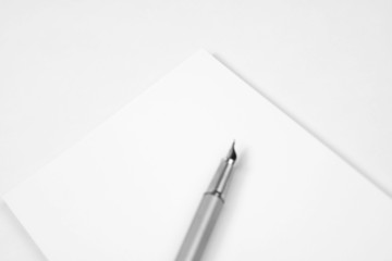 notepad/letterhead - blank mockup