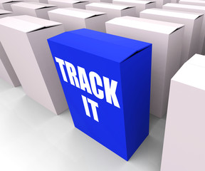 Track It Means to Follow an Identification Number on a Package