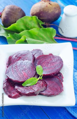 boiled beet
