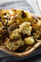 Roasted White Organic Cauliflower