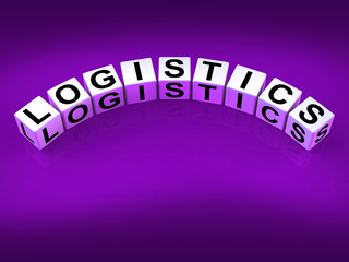 Logistics Blocks Show Logistical Strategies and Plans