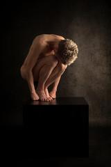 Artistic nude female body
