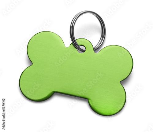 Green Dog Tag - 64370402