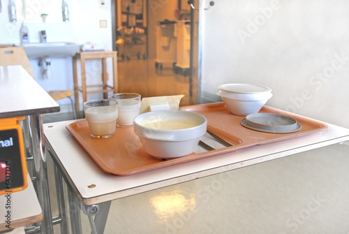Leinwanddruck Bild krankenhauszimmer