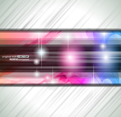 Abstract background for business card or brochures