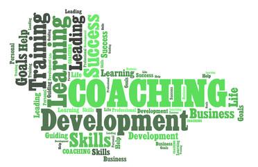 Word cloud Coaching