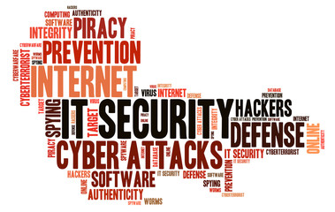 Word Cloud IT Security