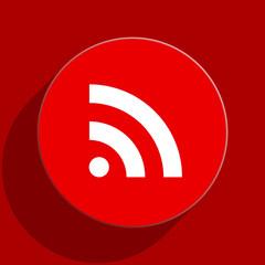 communication web flat icon