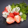 Erdbeeren und Waldmeister