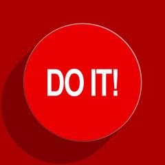 do it web flat icon