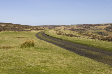 Rosedale Railway Track. North Yorkshire Moors