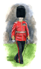England Royal guard
