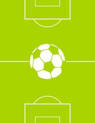 Sportplatz mit Ball