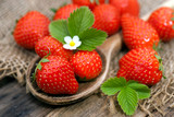 Fototapety Fresh strawberries